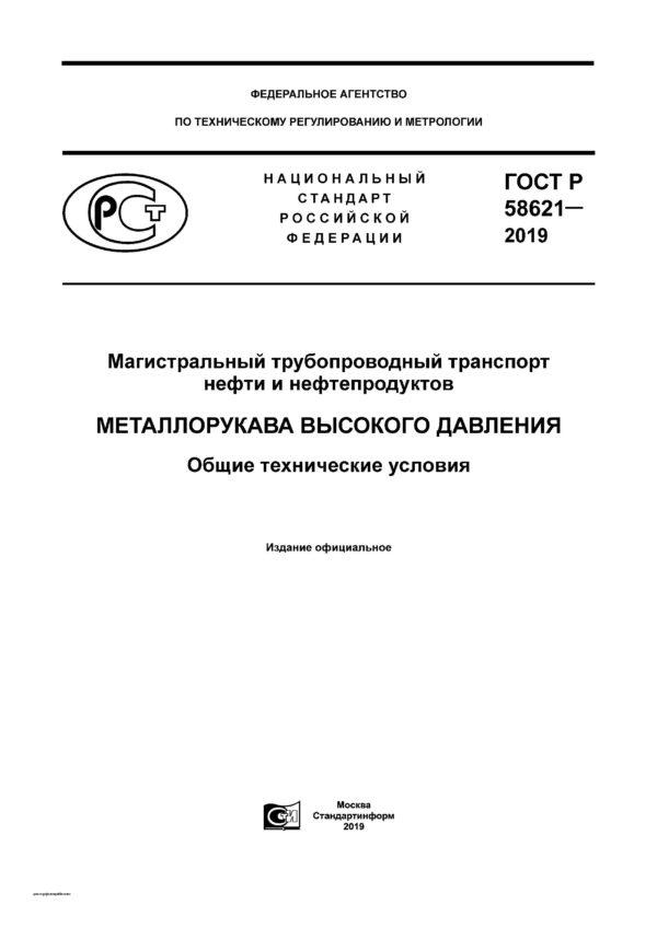 ГОСТ Р 58621-2019