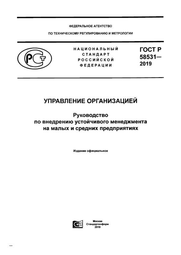ГОСТ Р 58531-2019